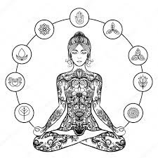 original yoga painting omwoman yoga meditate. Exellent Yoga 1024x1024 Decorative Lotus Yoga Woman Black Icon U2014 Stock Vector Inside Original Yoga Painting Omwoman Meditate G