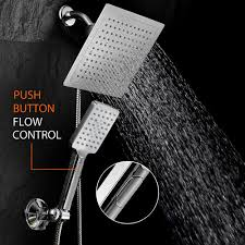 rain shower head with handheld desire 20 inch brushed nickel ceiling mount and also 9
