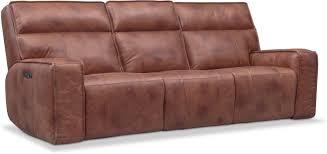 bradley triple power reclining sofa