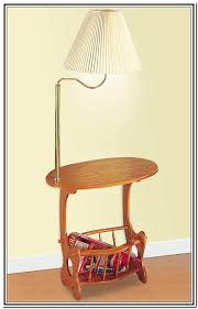 awesome end table with lamp attached modern tables free bedroom 11 intended for built in idea 17