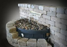 water feature backyard waterfalls fountain build a your own rock how to indoor fountains