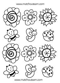 Bouquet De Printemps Coloriages De Fleurs Coloriage De Et Coloriage