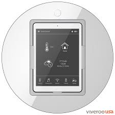 control lighting with ipad. Viveroo Loop IPad Docking Station In Clear White With Home Control App Lighting Ipad O