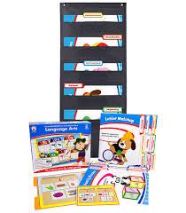 Language Arts File Folder Game And Black Pocket Chart Classroom Kit Grade K