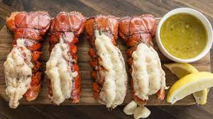 Grill lobster tail recipe ...