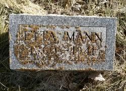 Etta Mann (1860-1941) - Find A Grave Memorial