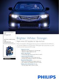 Advanced Lighting For Automotive Philips 12834unix2 Car Fog Light Bulb Pss Engau