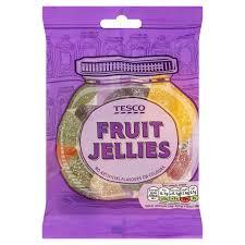 york fruits. tesco fruit jellies sweets 200g york fruits