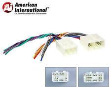 miata stereo parts accessories mazda car stereo cd player wiring harness wire aftermarket radio install plug fits miata