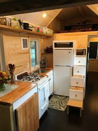House Kitchen Tiny House Completed Kitchen As Seen On Hgtv Tiny House Big Living