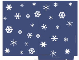 printable templates holiday snowflake gift tags treat and snlowflake holiday treat gift bag on blue sky