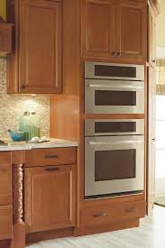 single wall oven cabinet. Beautiful Wall Double Oven Cabinet Kemper Cabinetry To Single Wall L