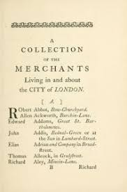 direct me nyc a history of city directories in the united  a collection of the s of the merchants living in and about the city of london