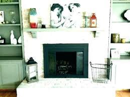 brick fireplace mantels wall mantel red brick fireplace mantel decor ideas wall decorate white gray decorative