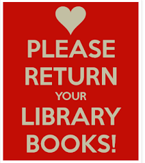 Image result for turn in your library books