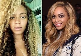 hollywood actresses without makeup beyonce photos stars caught without makeup ny daily news parison