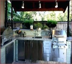outdoor kitchen refrigerator wonderful outdoor kitchens regarding outdoor