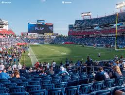 Tennessee Titans Stadium Virtual Seating Chart Nissan Stadium Section 103 Seat Views Seatgeek