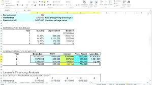 Lease Spreadsheet Lease Calculator Spreadsheet As Spreadsheet