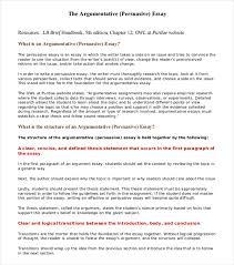 persuasive essay example samples in word pdf persuasive essay  argumentative essay examples premium templates persuasive essays example