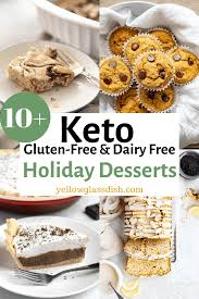low carb holiday desserts gluten free