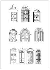 window designs drawing. Plain Designs Door And Window DesignArchitecture Ornamental PartsDecorative Inserts U0026  AccessoriesOutdoor House To Designs Drawing R