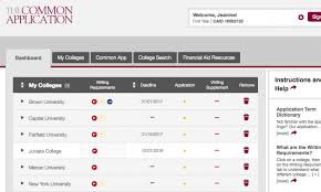 Four Year College Plan Template Apply To College With Common App The Common Application