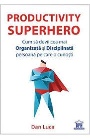 Productivity superhero by Dan Luca