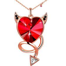 swarovski alana heart pendant 1062588