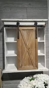 wood storage cabinet. Interesting Wood Sliding Barn Door Wood Storage Cabinet And
