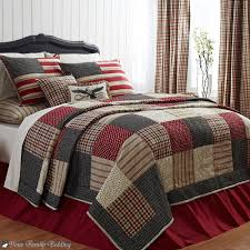 american patriotic red flag freedom twin queen cal king cotton quilt bedding set