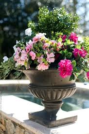artificial flowers fake outdoor resistant plants faux plastic greenery shrubs indoor outside hanging