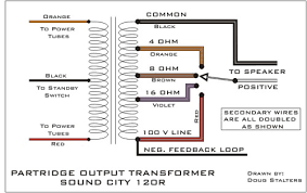 output transformer wire colors wiring diagrams 50watt partridge transformers help please here for a wiring diagram this output transformer