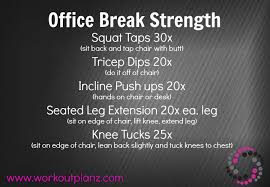 workout to do at the office