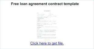 Loan Payment Contract Template Personal Agreement Form Free Interesting Loan Repayment Contract Free Template