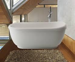 aquatica fido wht freestanding stone bathtub