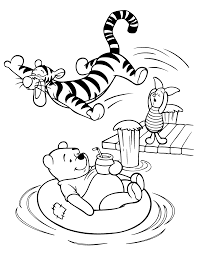 Winnie The Pooh Coloring Pages Disney Coloring Pages Disney