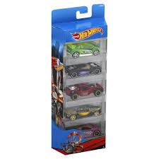 <b>Hot Wheels Spin</b> Storm, <b>Race</b>, 5-Pack