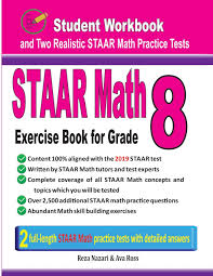 Staar Math Exercise Book For Grade 8 Student Workbook And