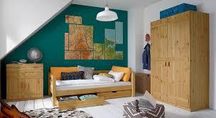 Jugendzimmer komplett aus Kiefer gefertigt - Kids Paradise
