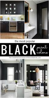 Most Popular Paint Colors For Bedrooms Remodelaholic Most Popular Black Paint Colors