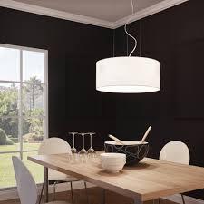 fabric pendant lighting. maserlo large white fabric pendant light lighting