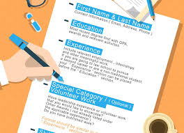 Resume Template With Education First Jjpengbu