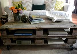pallet coffee table rustic