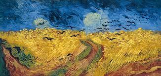 van gogh painting van gogh wheatfield with crows by vincent van gogh