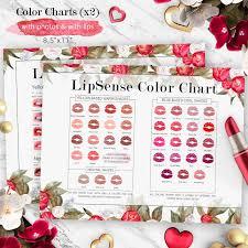 Lipsense Colors Chart Lipsense Peonies Color Chart