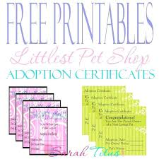 Pet Adoption Certificate Template Puppy Adoption Certificate Template Google Search Pet