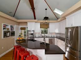 lighting cathedral ceilings ideas. Unique Kitchen Cabinet Ideas For Vaulted Ceilings 90 Epic With Lighting Cathedral L