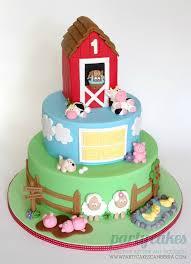 12 Country Farm Themed Birthday Cakes Photo Farm Animals Birthday