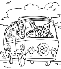 Scoubidou et ses amis dans la camion te